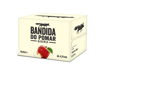 SIDRA BANDIDA DO POMAR 16X0.25L image number 0