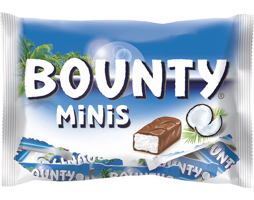 BARRAS BOUNTY DE CHOCOLATE MINI BAG 170G image number 0
