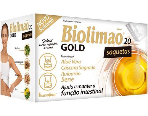 SUPLEMENTO BIOLIMÃO GOLD 20SAQ. image number 0