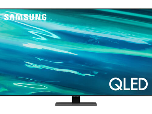 "TV QLED SAMSUNG 55"" 4K SMART QE55Q80AATXXC image number 0"