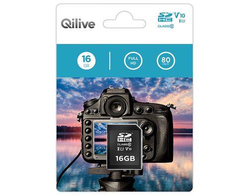 CARTÃO MEMÓRIA SD QILIVE 16GB A808117 image number 0