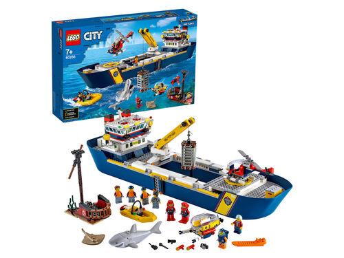 BARCO DE EXPLORAÇÃO LEGO CITY DO OCEANO image number 1