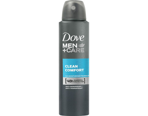 DEO SPRAY DOVE CLEAN COMFORT 150 ML image number 0