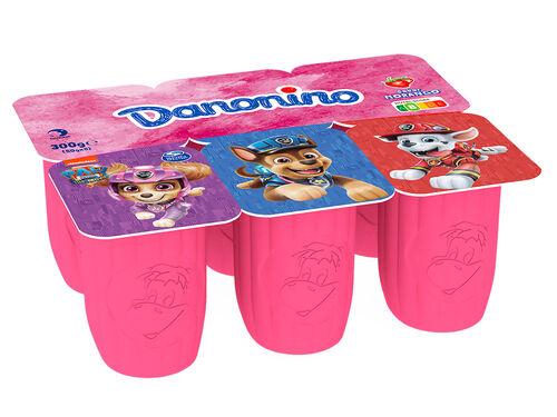 IOGURTE DANONINO PETIT MORANGO 6X50 G image number 1