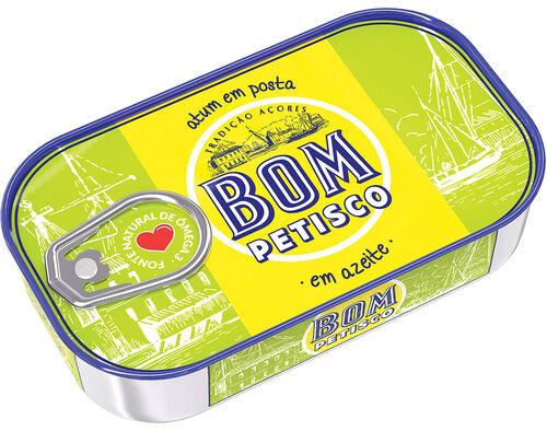 ATUM BOM PETISCO EM AZEITE 120G image number 0