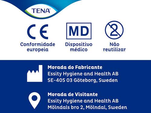 CUECA INCONTINÊNCIA TENA SILHOUETTE PRETA M 9 UN image number 6