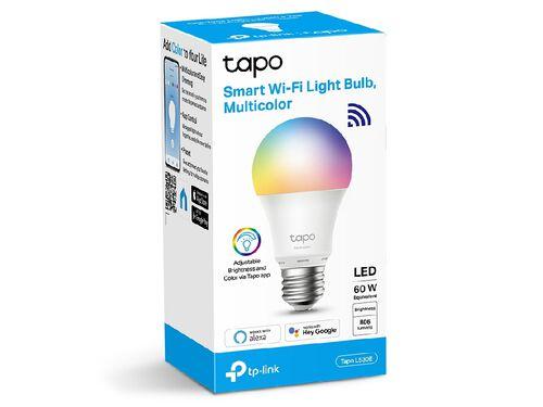 LÂMPADA SMART TP-LINK TAPO-L530E E27 806LM 8.7W RGB image number 0