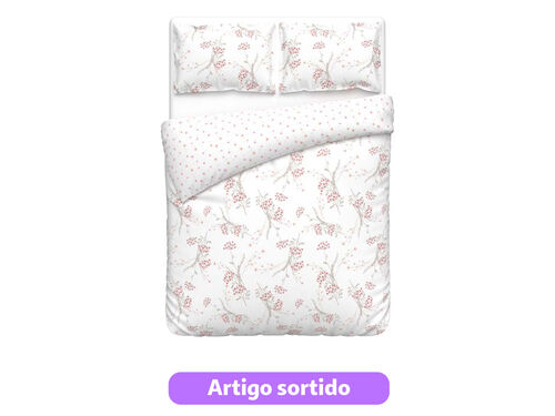 CAPA DE EDREDÃO ACTUEL MAUD/ANNIE PERCALE WW 260X240 image number 0