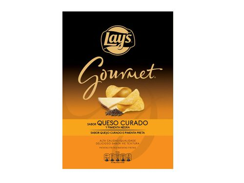 LAY'S GOURMET QUEIJO E PIMENTA 150G image number 2