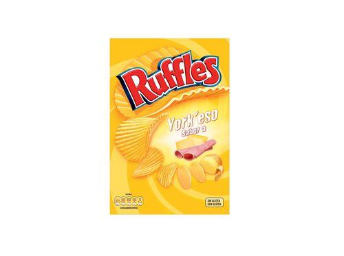 BATATAS RUFFLES YORK'ESO 160G image number 0