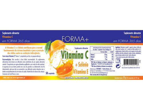 SUPLEMENTO FORMA+ VITAMINA C SELÉNIO VITAMINA E 50 CAPS image number 1