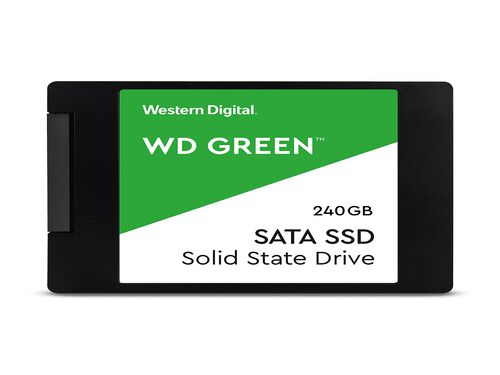 DISCO SSD WD 2.5'' 240GB GREEN image number 0