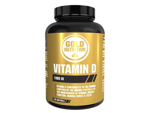 SUPLEMENTO GOLDNUTRITION VITAMINA D 120 CAPS SOFTGEL image number 0