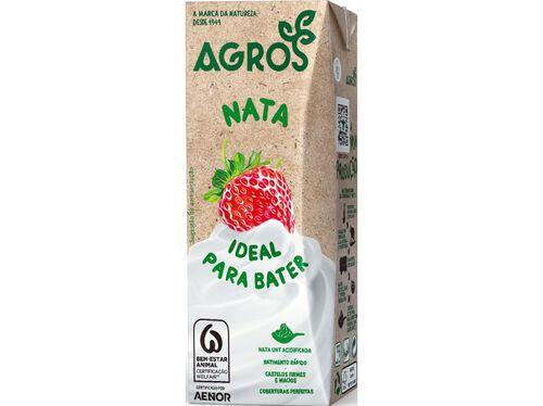 NATAS UHT AGROS 200ML image number 0