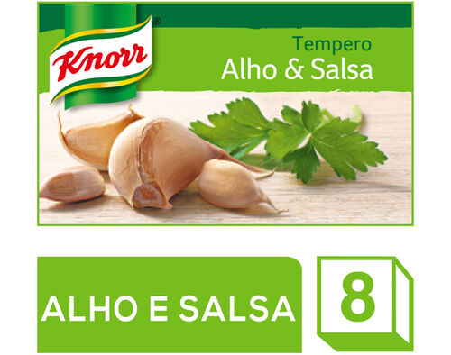 TEMPERO KNORR ALHO E SALSA 8CUBOS 72G image number 0