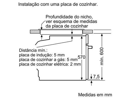 FORNO MULTIFUNÇÕES BALAY 3HB2010X0 A 66L INOX