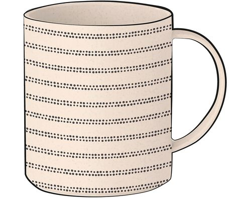 CANECA REUTILIZÁVEL ACTUEL BAMBOO 35CL image number 0