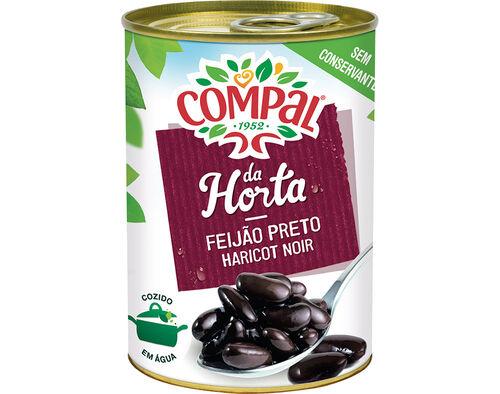 FEIJAO PRETO COMPAL DA HORTA 410 G image number 0