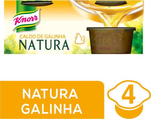 CALDO KNORR NATURA GALINHA 4X28G image number 0