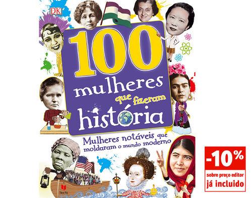 LIVRO 100 MULHERES QUE FIZERAM HISTÓRIA DK image number 0