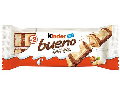 SNACK FERRERO KINDER BUENO WHITE T2 43G image number 0