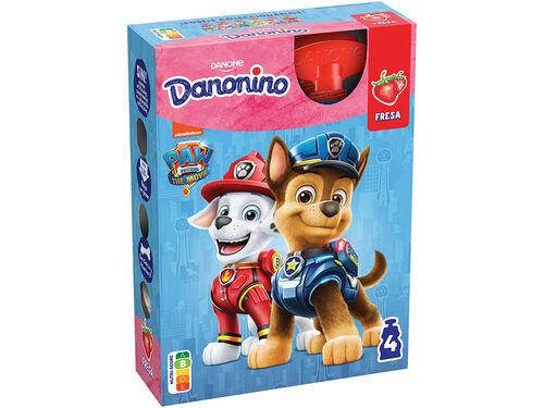 IOGURTE DANONINO P/LEVAR MORANGO 4X70 G image number 0