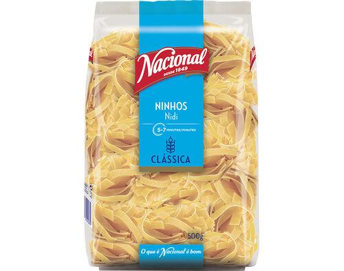 MASSA NACIONAL NINHOS/TAGLIATELLE 500 G image number 0