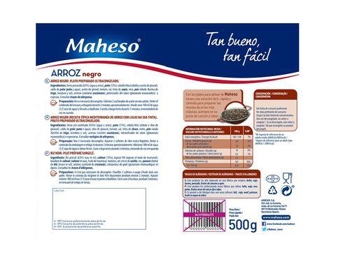 ARROZ NEGRO MAHESO 500G image number 1