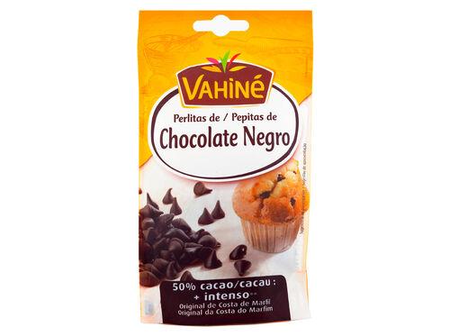 PEPITAS VAHINÉ CHOCOLATE NEGRO 50% 100 G image number 0
