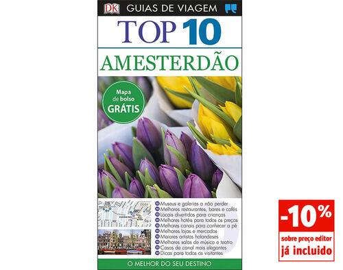 LIVRO GUIAS DE VIAGEM TOP 10 AMSTERDÃO image number 0