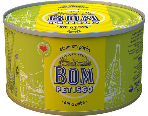 ATUM BOM PETISCO POSTA EM AZEITE 200G image number 0