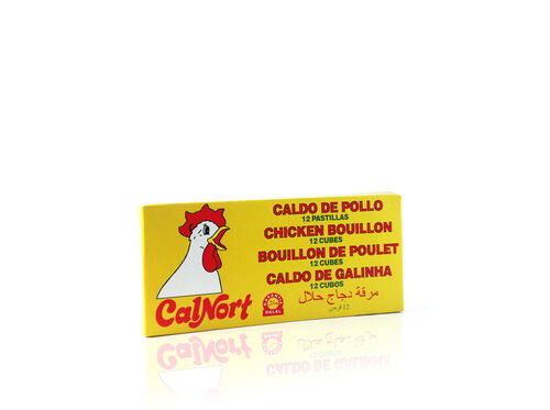 CALDO CALNORT GALINHA 12 CUBOS 120G image number 1