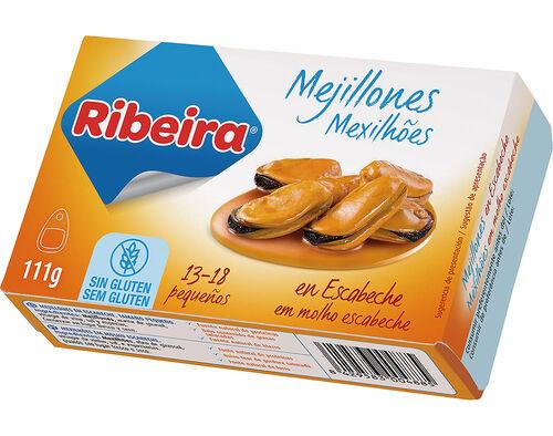 MEXILHÕES RIBEIRA EM ESCABECHE 111G image number 0