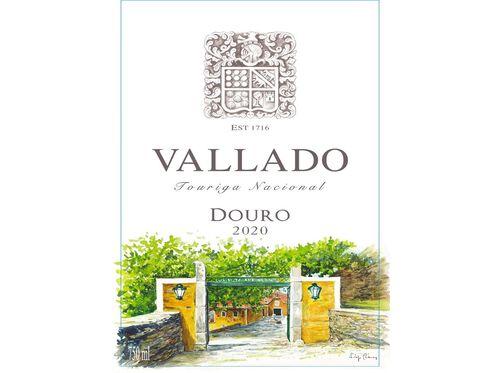 VINHO ROSÉ QUINTA DO VALLADO TOURIGA NACIONAL 0.75L. image number 1