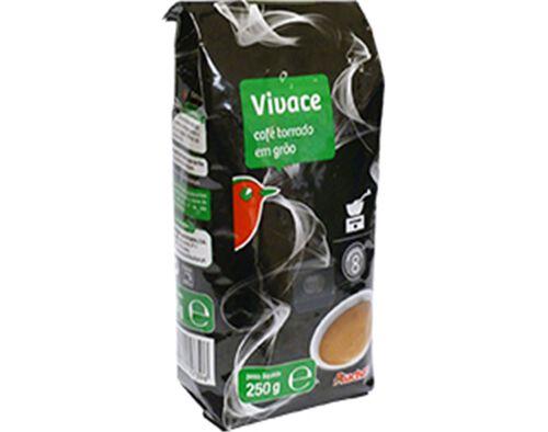 CAFÉ AUCHAN TORRADO GRÃO VIVACE 250G image number 0