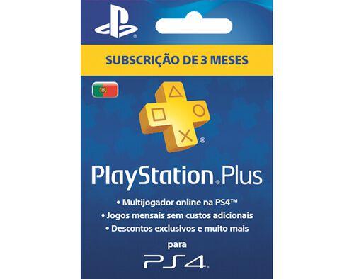 CARTÃO PLAYSTATION PLUS 90 DIAS image number 0
