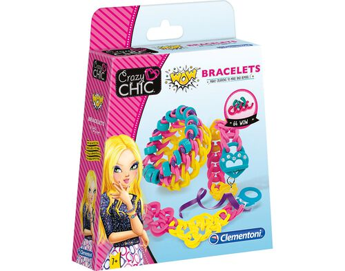 CRAZY CHIC-KIT PULSEIRAS WOW CLEMENTONI image number 0