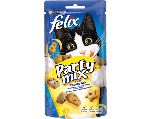SNACK GATO PARTY MIX FELIX CHEEZY MIX 60GR image number 0