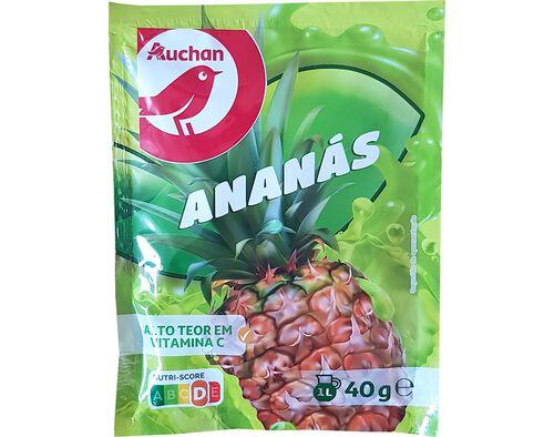 BEBIDA AUCHAN INSTANTÂNEA ANANÁS 40G image number 0