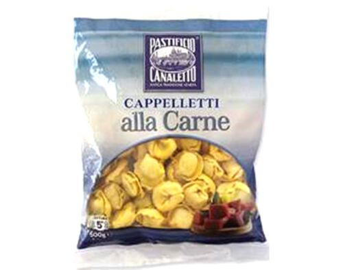 CAPPELLETTI PASTIFIC CANALETTO COM CARNE 500G image number 0