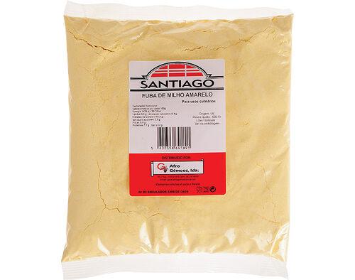 FUBA SANTIAGO MILHO AMARELO 500G image number 0