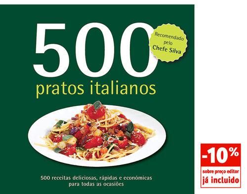 LIVRO 500 PRATOS ITALIANOS VALENTINA SFORZA image number 0