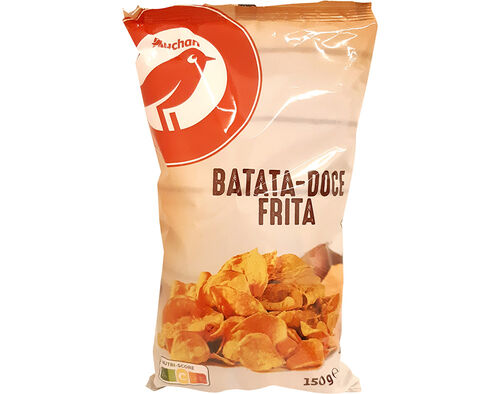 BATATA DOCE FRITA AUCHAN 150G image number 0